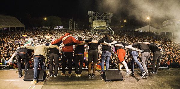 La Raíz en el Festival Viña Rock