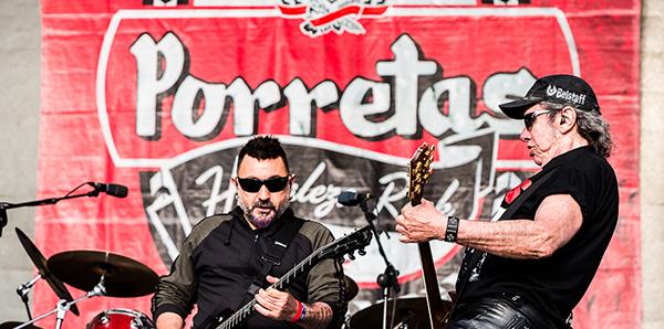 Los Porretas en el Festival Viña Rock