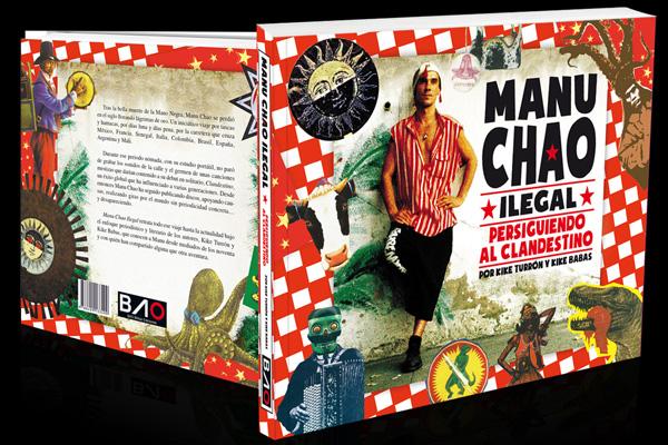 Portada de la biografía de Manu Chao