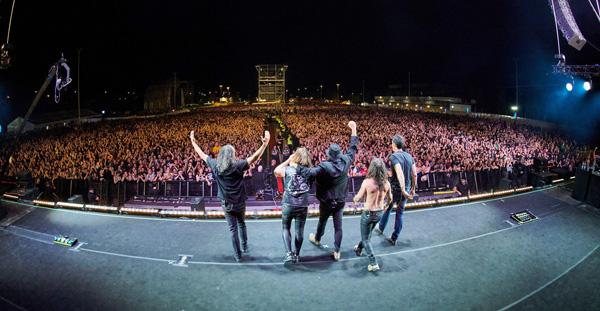 Marea en concierto en Madrid