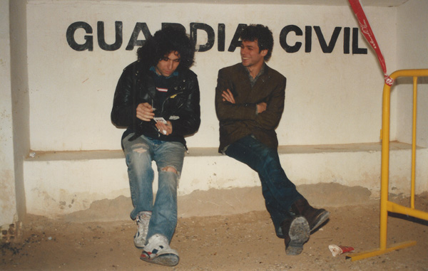 Andrés Calamaro y Ariel Rot