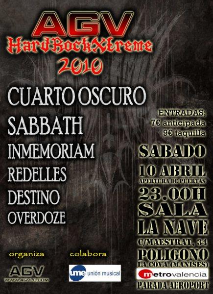 Aplazado el concierto de Cuarto Oscuro en Álava - Manerasdevivir.com