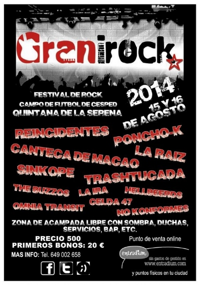 Festival-Granirock-2014-Quintana-de-la-serena