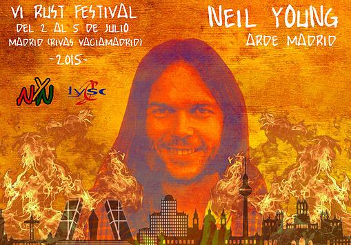 Rust Fest 2015, 4 días dedicados a Neil Young en Rivas Vaciamadrid - Manerasdevivir.com