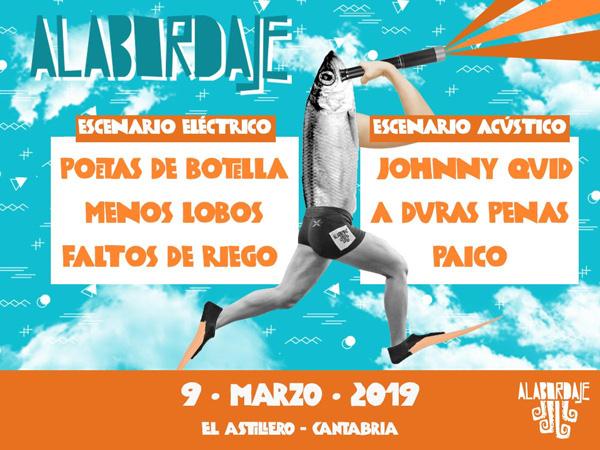 Cartel Alabordaje Fest (Astillero, Cantabria)