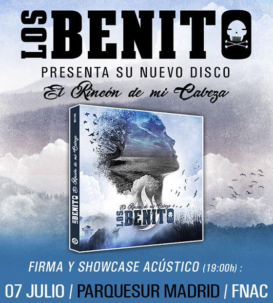 Los Benito - Firmas de discos en Madrid