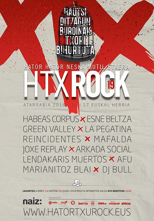 Cartel del Hatortxu Rock 19