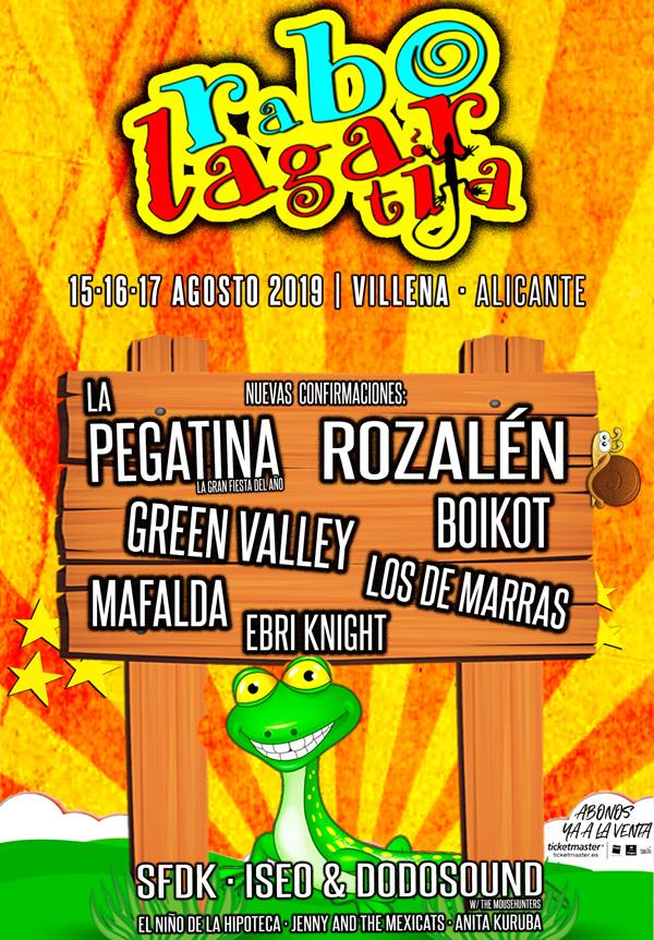Cartel festival Rabolagartija