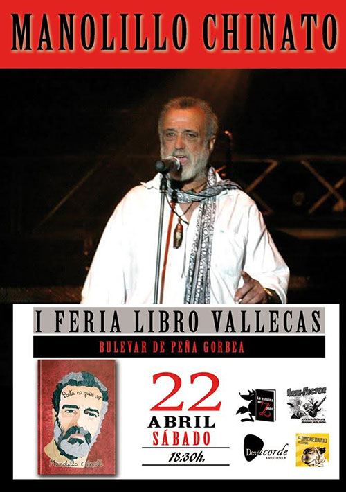 Chinato Feria Libro Vallecas