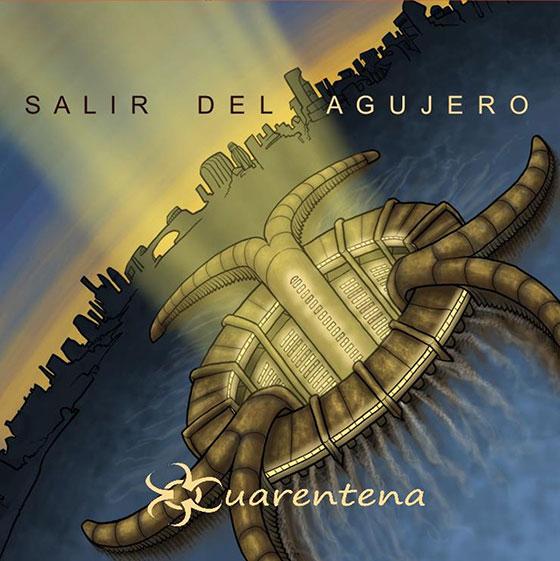 Cuarentena, portada del EP Salir del agujero