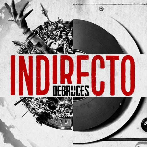 Debruces - Portada disco en directo Indirecto