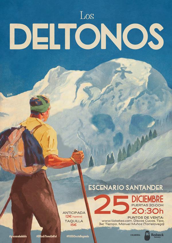 Los Deltonos - Concierto en Santander