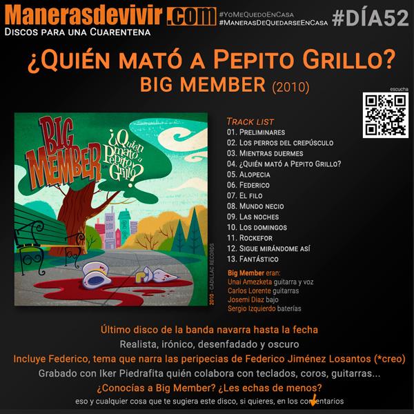 ¿Quién mató a Pepito Grillo? - Big Member (2010)