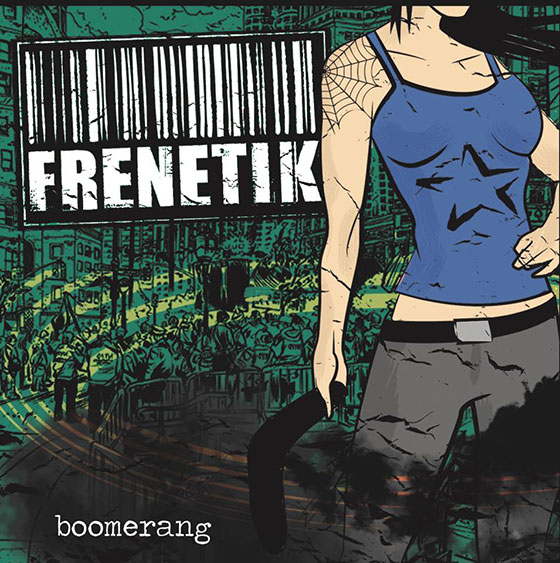 Frenetik: portada de Boomerang