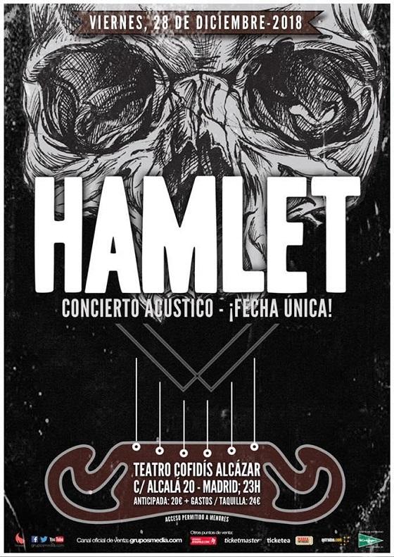 Concierto acústico de Hamlet