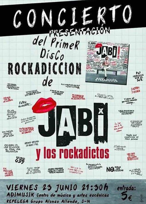 Jabi y los Rockadictos - Concierto presentación