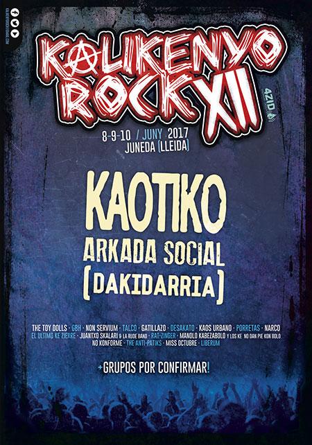 Avance cartel Kalikenyo Rock 2017