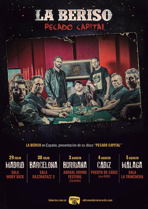 Concierto de La Beriso en España