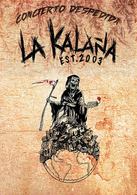 Último concierto de La Kalaña