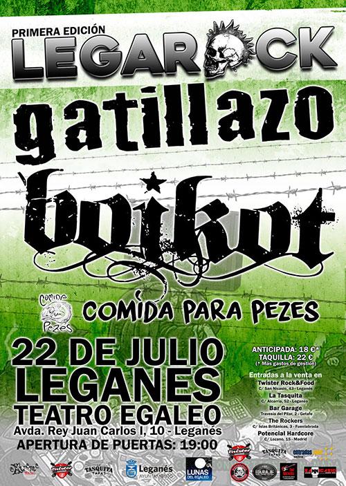 Cartel Festival Legarock 2017