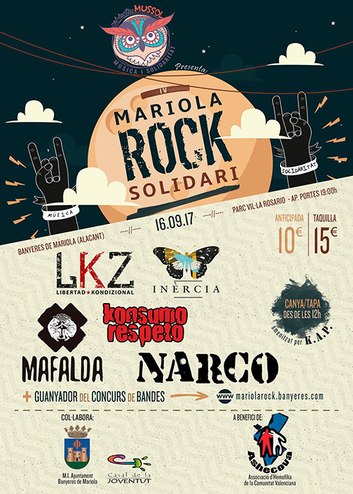 Cartel Mariola Rock 2017