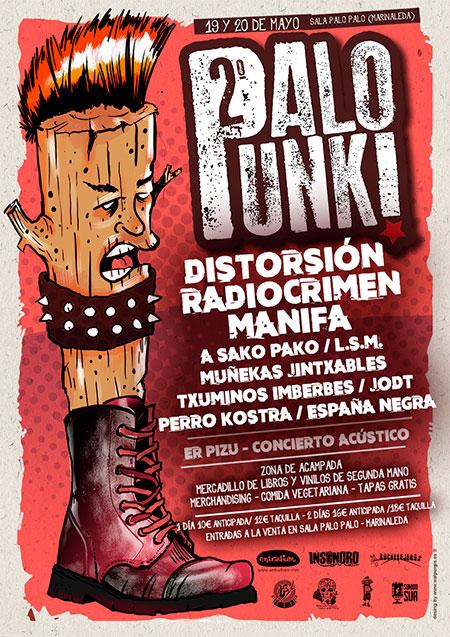 Cartel Palo Punk 2017