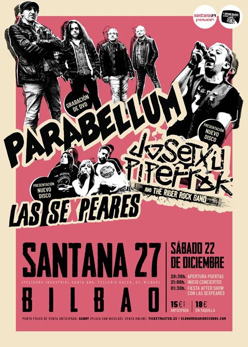 Concierto de Parabellum en Bilbao