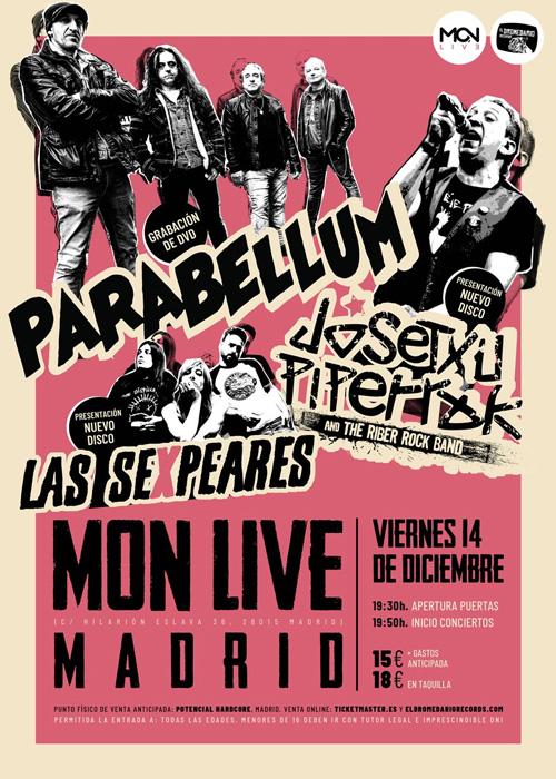 Concierto de Parabellum en Madrid