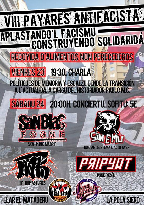 Jornadas del Payares Antifa