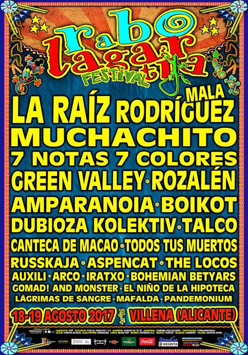 Cartel Festival Rabolagartija 2017
