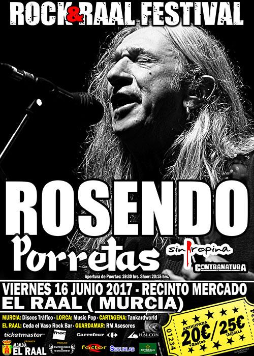 Cartel festival Rock&RRaal 2017