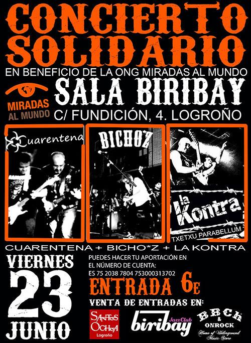 Concierto solidario en Logroño