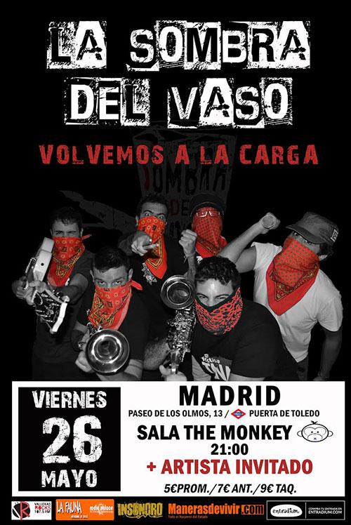 La Sombra del Vaso - Concierto en Madrid