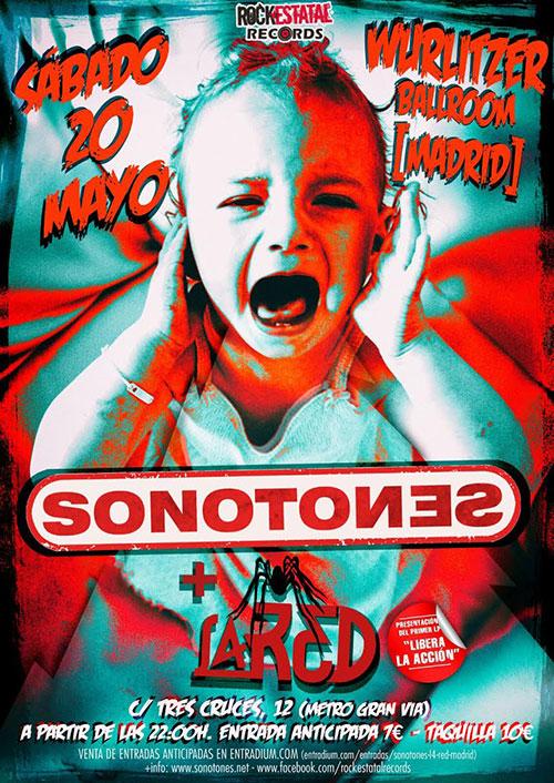 Sonotones - L4 Red - Concierto Wurlitzer