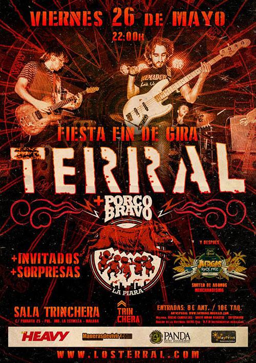 Terral y Porco Bravo en Sevilla