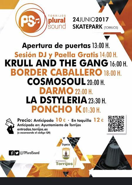 Cartel Torrijos Plural Sound 2017