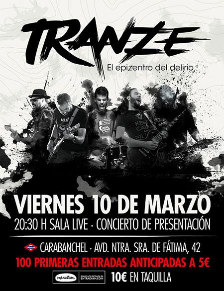 Tranze - Concierto en Madrid