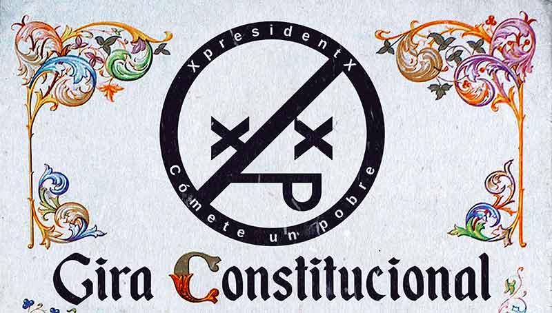 XpresidentX rinden homenaje a La Pepa en su Gira Constitucional
